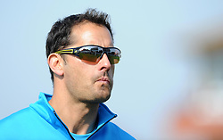 Somerset's Coach Jason Kerr - Photo mandatory by-line: Harry Trump/JMP - Mobile: 07966 386802 - 08/04/15 - SPORT - CRICKET - Pre Season - Somerset v Lancashire - Day 2 - The County Ground, Taunton, England.