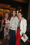 Erin Morris, Heather Bronks and Lara Bohinc at the Opening of The LAPADA  Art and Antiques Fair. Berkeley Sq. London. 24 September 2013.