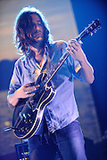 Band of Horses performing at the Scottrade Center in St. Louis in support of Pearl Jam on May 4, 2010.