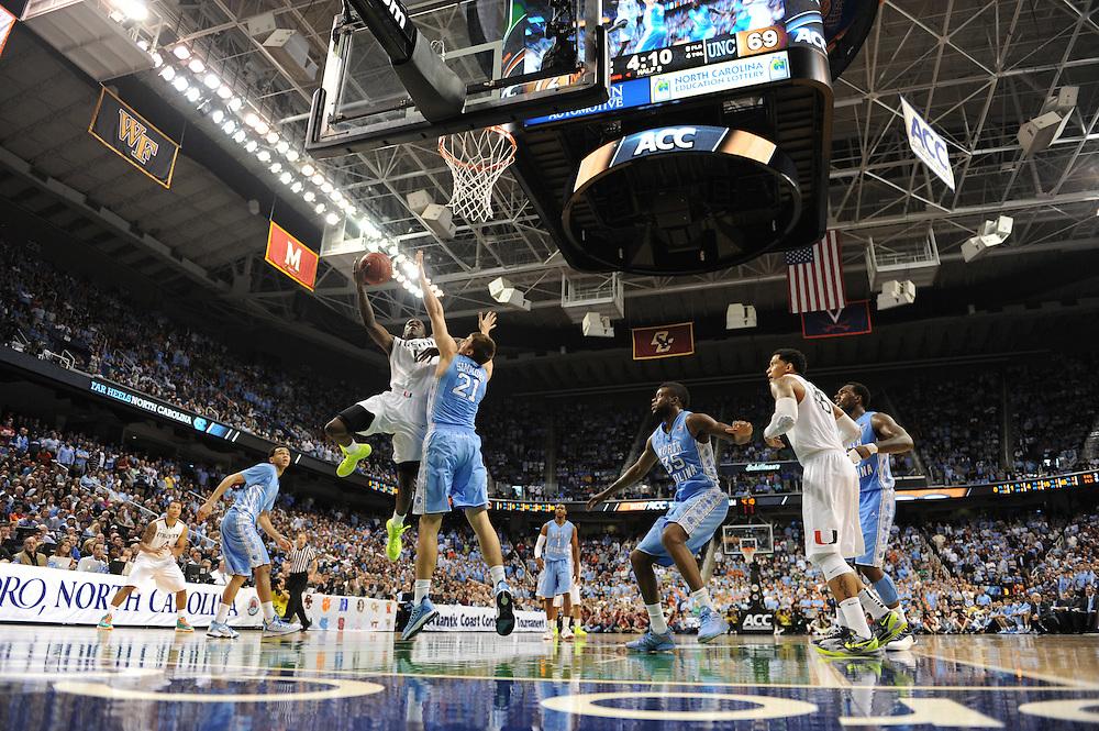 2013 Miami Hurricanes Men's Basketball vs North Carolina State @ ACC Tournament