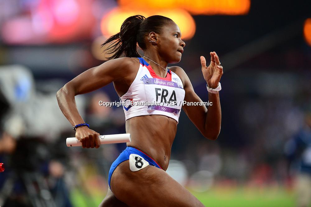 Muriel Hurtis (Fra) - finale 4x400m femmes relais