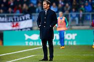 06-03-2016 VOETBAL:WILLEM II-AJAX:TILBURG <br /> Ajax trainer/Coach Frank de Boer <br /> <br /> Foto: Geert van Erven