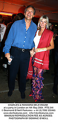 CHARLES & PANDORA DELEVINGNE at a party in London on 4th May 2004.PTS 244