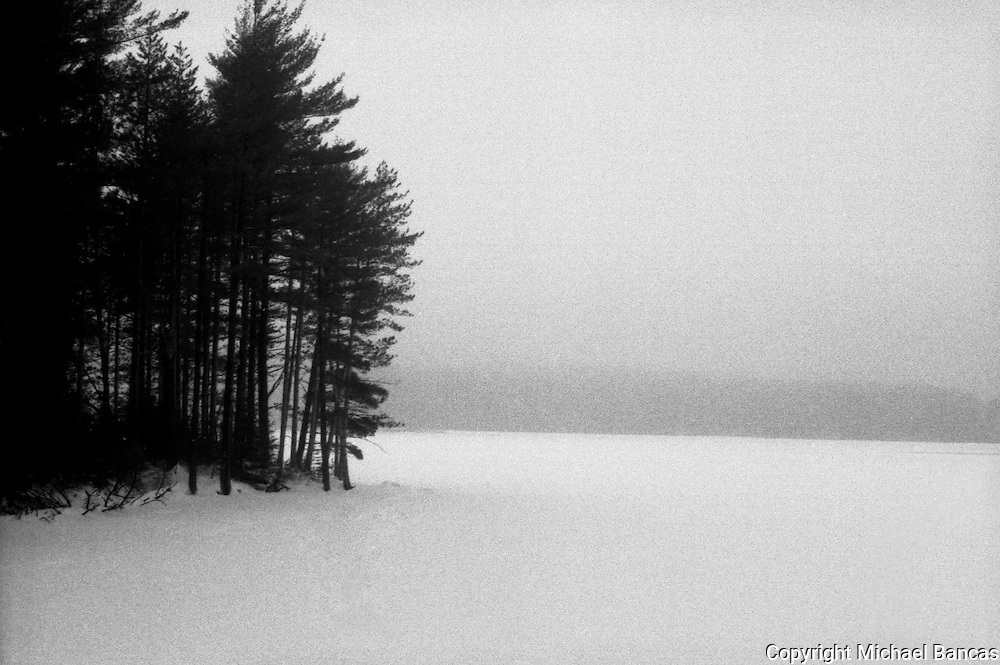 Winter at Cooper's Lake Upstate NY