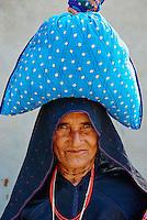 Inde, Gujarat, Kutch, village de Dhrang, population Ahir // India, Gujarat, Kutch, Dhrang village, Ahir ethnic group