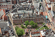 aerial photograph of Leicester Town Hall Leicestershire  England UK