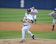 Ole Miss' Sam Smith (29) vs. Memphis at Oxford-University Stadium in Oxford, Miss. on Tuesday, February 28, 2012. Ole Miss won 7-2.