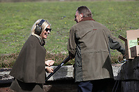 X at Stephanie and Phillip Schofield host a charity shooting day at the Royal Berkshire Shooting School in aid of the Peter Jones Foundation and Shooting Star Chase Photography by CPG Photography