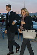 MALLORCA, SPAIN, 2015, JANUARY 11<br /> <br /> Princess Cristina and her husband IÒaki Urdangarin arrive at court for fraud trial. This is the first time a member of Spanish Royal Family has been put on trial. <br /> ©Exclusivepix Media