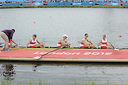 Eton Dorney, Windsor, Great Britain,..2012 London Olympic Regatta, Dorney Lake. Eton Rowing Centre, Berkshire[ Rowing]...Description;  Men's Eights Final. Description;  Men's Eights Final...CAN.M8+.  Gabriel BERGEN (b) , Douglas CSIMA (2) , Rob GIBSON (3) , Conlin MCCABE (4) , Malcolm HOWARD (5) , Andrew BYRNES (6) , Jeremiah BROWN (7) , Will CROTHERS (s) , Brian PRICE (c)..Dorney Lake. ..12:56:20  Wednesday  01/08/2012..[Mandatory Credit: Peter Spurrier/Intersport Images].