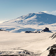 Mount Erebus from Observation Hill