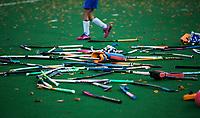 Bloemendaal-Hockeysticks op kunstgras. COPYRIGHT KOEN SUYK