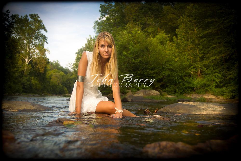 August/21/11:  Ellen Berry Senior Portraits.  MCHS Class of 2012.  Robinson River.