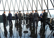 Gherkin drinks reception