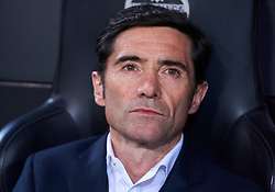 February 28, 2019 - Valencia, U.S. - VALENCIA, SPAIN - FEBRUARY 28: Marcelino Garcia Toral, head coach of Valencia CF looks during the Copa del Rey match between Valencia CF and Real Betis Balompie at Mestalla stadium on February 28, 2019 in Valencia, Spain. (Photo by Carlos Sanchez Martinez/Icon Sportswire) (Credit Image: © Carlos Sanchez Martinez/Icon SMI via ZUMA Press)