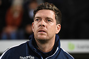 Bristol Rovers manager Darrell Clarke  during the The FA Cup match between Notts County and Bristol Rovers at Meadow Lane, Nottingham, England on 3 November 2017. Photo by Jon Hobley.