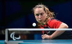 20160909 Paralympics Rio 2016 - Bordtennis indledende Sophie Walløe