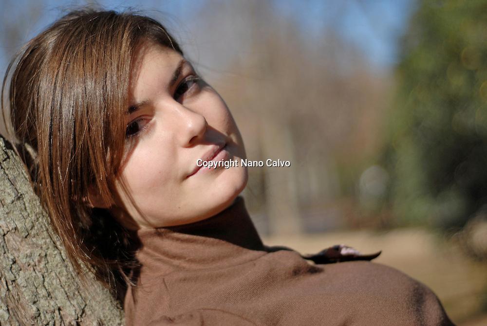 MR Portrait of an attractive brazilian girl