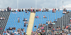 Empty seats at  the show jumping event at the London 2012 Olympics , Tuesday 31st July 2012 Photo by: i-Images