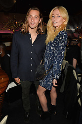 CLARA PAGET and OSCAR TUTTIETT at the STK Ibiza Pe-Launch Party held at STK London, 336-337 Strand, London on 21st June 2016.