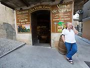 La Vielle Cave wine cellar.