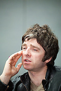 Noel Gallagher, guitarist and songwriter of British rock band Oasis.