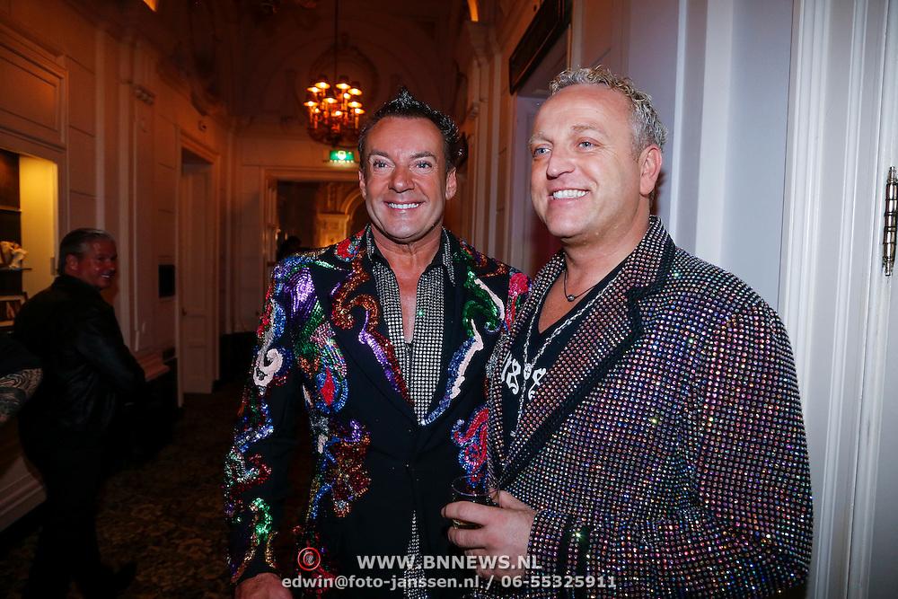 NLD/Amsterdam/20121112 - Beau Monde Awards 2012, Gerard Joling en Gordon Heuckeroth