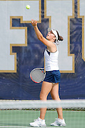 FIU Tennis Vs. Columbia at FIU tennis facility.  The Golden Panthers lost against Columbia.