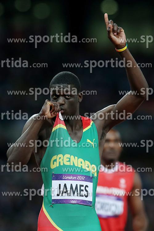 Olympics - London 2012 Olympic Games - Athletics - 6/8/12 Athletics - .Kirani James (GRE).© pixathlon