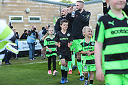 Mascots during the EFL Sky Bet League 2 second leg Play Off match between Forest Green Rovers and Tranmere Rovers at the New Lawn, Forest Green, United Kingdom on 13 May 2019.