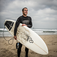 Surfer Portrait, Surf Ad