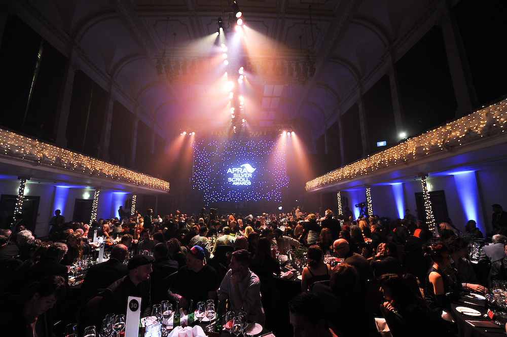 The APRA Silver Scroll Awards 2012. Auckland Town Hall. 13 September 2012.