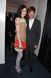 SOPHIE ELLIS-BEXTOR and RICHARD JONES at the GQ Men of the Year 2011 Awards dinner held at The Royal Opera House, Covent Garden, London on 6th September 2011.