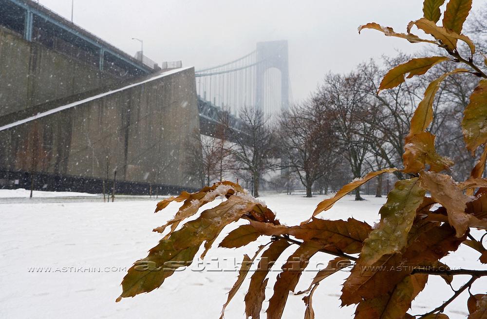 Snow storm in Brooklyn NYC. December 26-27, 2010