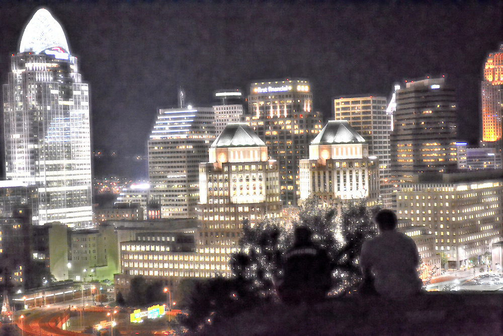 A night out at Mt. Adams in Cincinnati, Ohio