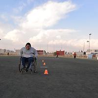 Toluca, México.- (Abril 17, 2018).- El Centro de Integración al Futbol, Acondicionamiento y Rehabilitación para Discapacidad (CIFARD)  dirigido por Obed Aguilar,  atiende a personas con discapacidad motriz, intelectual y débiles visuales, uno de sus objetivos es integrar a todas las personas con discapacidad, sin distinciones, o alguna limitante porque el deporte, en particular el futbol permite poder hacer esto. Agencia MVT / Crisanta Espinosa.