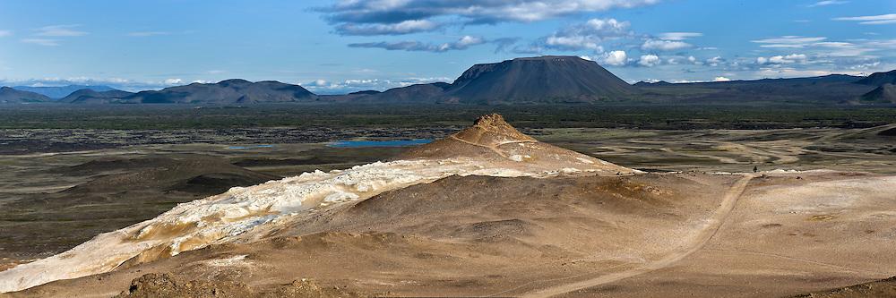 Námaskarð in North-Iceland, near Mývatn.