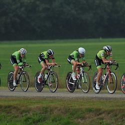 Boels Rental Ladies Tour Coevorden TTT 15th Ronald McDonaldhuis Groningen Simone de Vries, Janneke Ensing, Natalie van Gogh, Leonie Lubbinge, Marissa Otten, Monique van de Ree