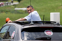 Referee Commissaire during Stage 2 of 24th Tour of Slovenia 2017 / Tour de Slovenie from Ljubljana to Ljubljana (169,9 km) cycling race on June 16, 2017 in Slovenia. Photo by Vid Ponikvar / Sportida