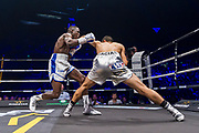 Souleymane CISSOKHO (FRA) and José De Jesus MACIAS (MEX) during the Boxing event, La Conquete Tony Yoka, round 4, heavyweight boxing bout between Tony Yoka (FRA) and Cyril Leonet (FRA) on April 7, 2018 at Dome de Paris - Palais des Sports in Paris, France - Photo Pierre Charlier / ProSportsImages / DPPI