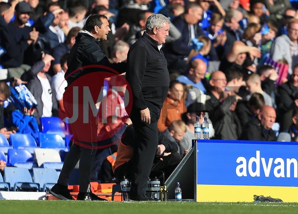 Aston Villa manager Steve Bruce - Mandatory by-line: Paul Roberts/JMP - 29/10/2017 - FOOTBALL - St Andrew's Stadium - Birmingham, England - Birmingham City v Aston Villa - Skybet Championship