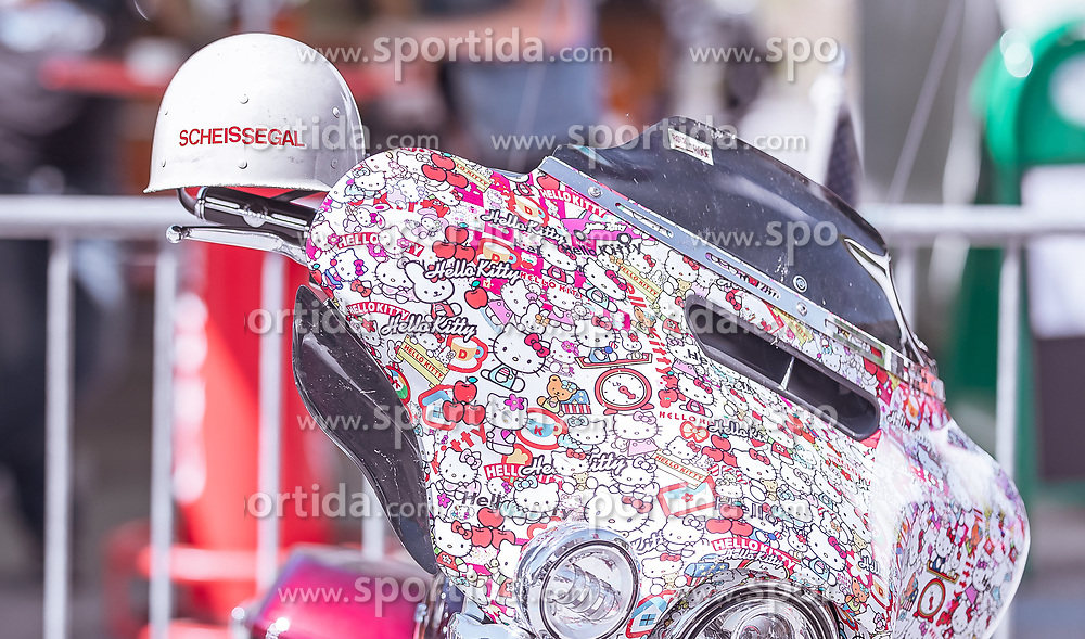 29.06.2019, Schladming, AUT, Rock the Roof 2019, im Bild Harley Davidson Motorrad // Harley Davidson Motorcycle during the Rock the Roof Biker Meeting in Schladming, Austria on 2019/06/29. EXPA Pictures © 2019, PhotoCredit: EXPA/ JFK