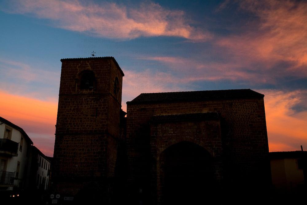San Nicolas church, town of Plasencia, province of Caceres, autonomous community of Extremadura, western Spain