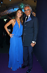 TAMARA MELLON and FLAVIO BRIATORE at The British Red Cross London Ball - H2O The Element of Life, held at The Room by The River, 99 Upper Ground, London SE1 on 17th November 2005.<br /><br />NON EXCLUSIVE - WORLD RIGHTS