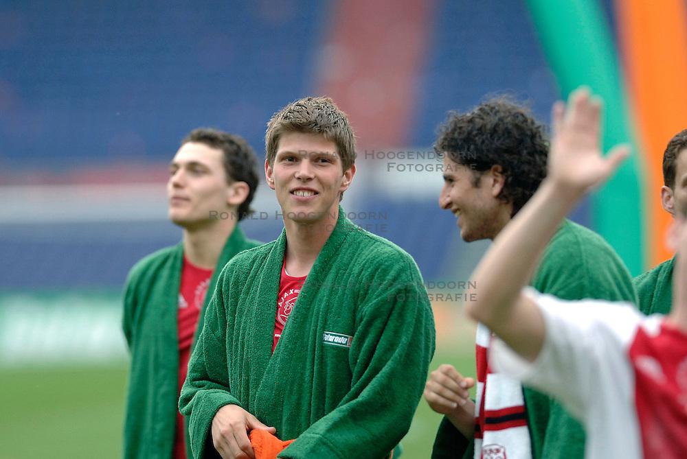 07-05-2006 VOETBAL: FINALE GATORADE CUP: AJAX - PSV: ROTTERDAM<br /> Klaas Jan Huntelaar <br /> &copy;2006-WWW.FOTOHOOGENDOORN.NL