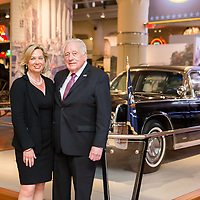 Lisa McCubbin & former Secret Service Agent Clint Hill speaking at The Henry Ford Museum of American Innovation about their book Five Presidents