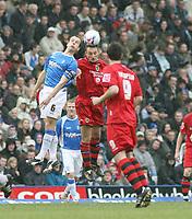 Photo: Mark Stephenson.<br /> Birmingham City v Cardiff City. Coca Cola Championship. 04/03/2007.Birmingham's Stephen Clemence wins the ball