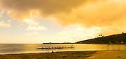 Outrigger Canoe, Maunalua Bay Beach Park, Hawaii Kai, Oahu, Hawaii