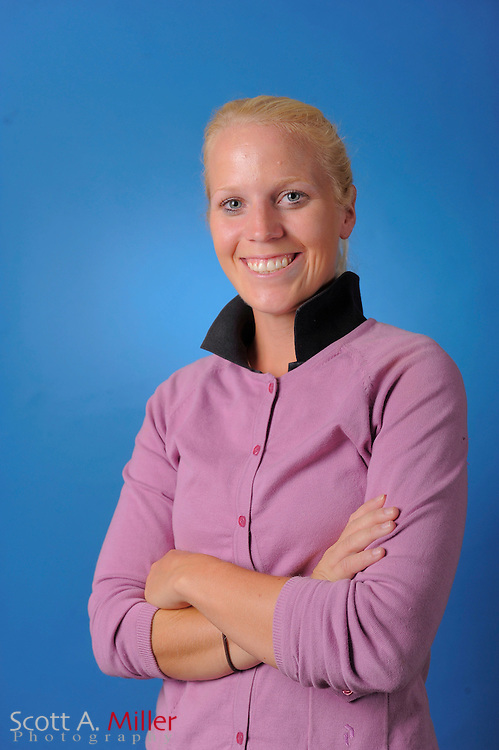Jutta Degerman during a portrait session prior to the second stage of LPGA Qualifying School at the Plantation Golf and Country Club on Sept. 24, 2011 in Venice, FL...©2011 Scott A. Miller