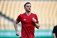 Andy King of Wales national football team takes part in a training session before the semi-final match against China during the 2018 Gree China Cup International Football Championship in Nanning city, south China's Guangxi Zhuang Autonomous Region, 20 March 2018.